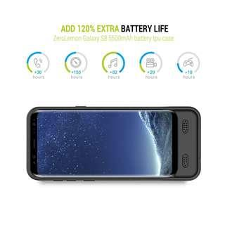 ZeroLemon 5000 mAh Galaxy S8 Wireless Charging Out Battery Case 5000毫安Galaxy S8无线充电器充电宝#121