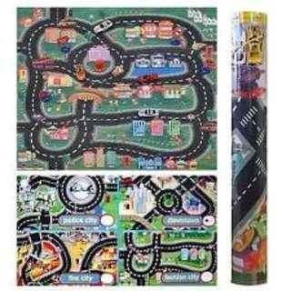 Kids Toy Car Play Mat Brand New