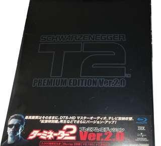 Terminator 2 未來戰士續集 日版 Blu-ray Steelbook 藍光 鐵盒 2.0