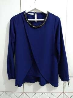 Blouse navy
