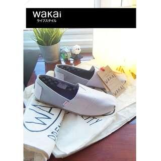 Original Wakai slip on canvas causal men shoes loafers Toms