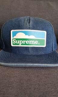 Supreme Farmland Denim Cap SS18