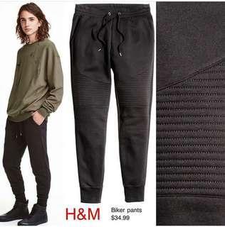 Jogger Bikers Pants H&M - celana joger h&m