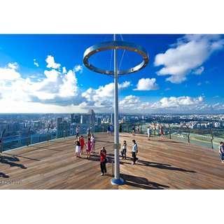 Marina Bay Sands - Observation Deck - Buy 2 Offer - Hot Deal