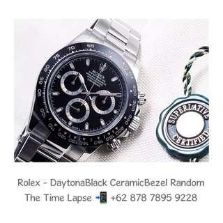 Rolex - Daytona Black Ceramic Bezel 'Random'