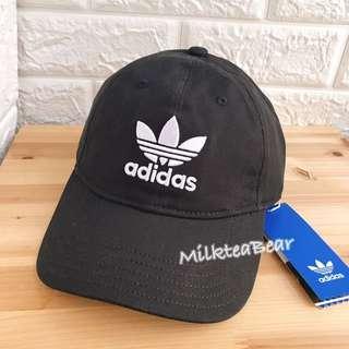 🇺🇸直送 Adidas Cap帽 Black 刺繡logo (100%authentic)