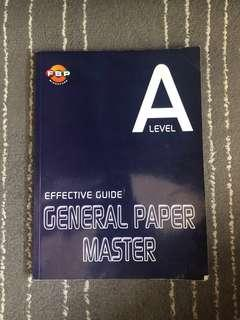 🚚 A Level General Paper guidebook