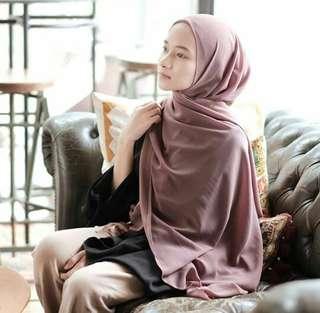 Hijab pashmina diamond