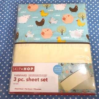 Skip*hop cot sheet set