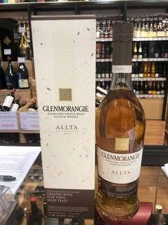 行貨 Glenmorangie Single Malt Scotch Whisky Allta Private Edition No.10 威士忌 whiskey