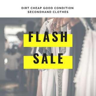 CHEAP CLOTHES $2 EACH