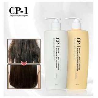 韓國 CP-1 蛋白質柔滑洗髮水/護髮素 500 ml