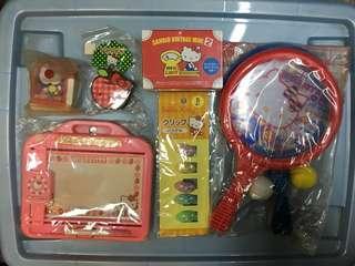 開放式福袋 全新 Hello kitty 文具玩具