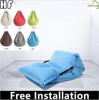 🚚 140*180cm/Bean bag/Small sofa for home use/Cloth/Type B