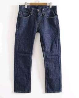 🚚 正品Levis522 男深藍低腰直筒牛仔褲