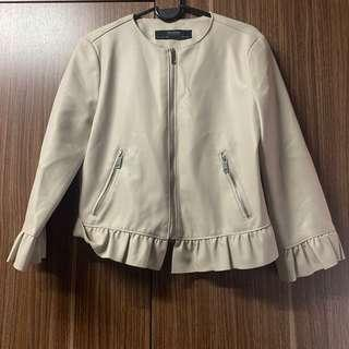 Authentic Zara PU Leather Jacket