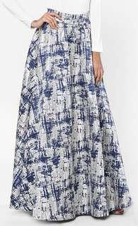 Aere Elvira Jacquard Skirt