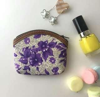 BN sweet floral Coin Purse/Cosmetic pouch