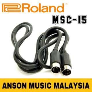 Roland MSC-15 MIDI Cable