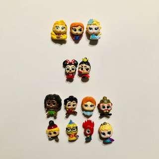 Disney Doorables Set Figures, Ultra Rares and Rares