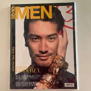 !Out-Of-Print! Style:Men Magazine (Oct 2012) Godfrey Gao shot by Chuando & Frey