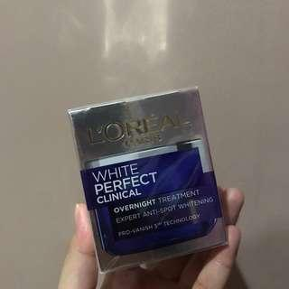(NEW) Loreal White Perfect Clinical Overnight Treatment