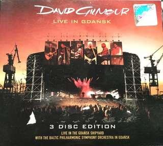 DAVID GILMOUR LIVE AT GDANSK