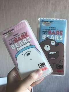 Miniso Iphone 7 CASE (We Bare Bears)