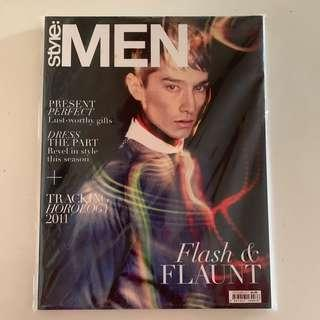 !Out-of-print! Early issue of Style:Men magazine (Dec 2011) shot by Chuando & Frey