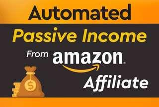 Fully automated Amazon affiliate e-commerce store for passive income