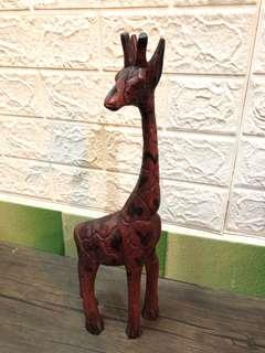 木製長頸鹿