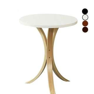 Small Wood Round Coffee Table