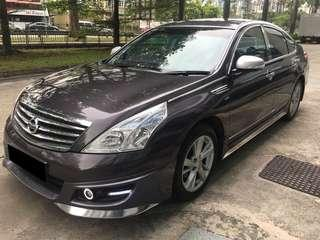 29MAR2019-01APR2019 FRI-MON NISSAN TEANA $210 (P PLATE WELCOME)(FREE PICKUP AT SEMBAWANG MRT)