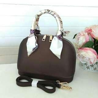 ❗SALE: SHELL MINI BROWN 24cm