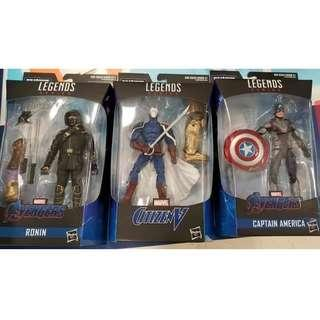 WTS: unwanted Marvel Legends figures from Armoured Thanos BAF wave