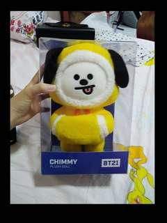 [WTS FAST]BT21 chimmy Christmas edition doll