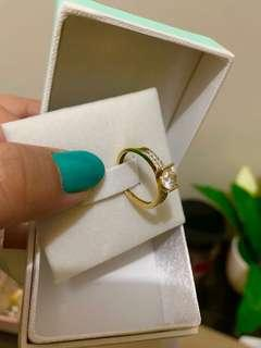 Gold ring size 7