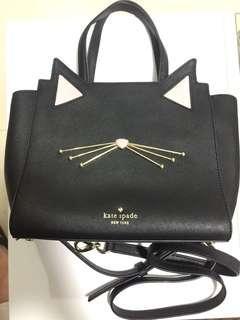 Kate Spade Cat Face Bag 貓樣可上膊手袋