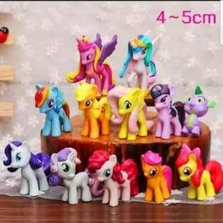 🚚 My little Pony figurine (small) for Cake/Cupcake/Muffin Toppers for Party Decoration