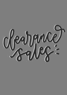 🚚 clearance sales