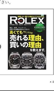 勞力士 116520 1016 11610LN Rolex real magazine vol 19 2018