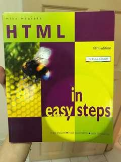 HTML in easy steps - fifth edition #MMAR18
