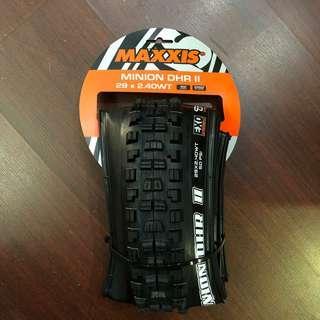 New: Maxxis Minion DHR II Wide Trail 29x2.40 Tyre - EXO - TR