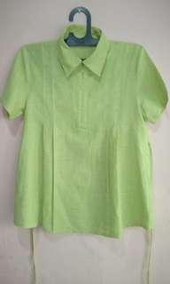Blouse hamil hijau