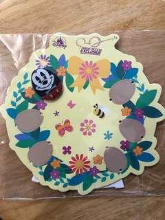 迪士尼「花蛋」徽章 - 米奇(連底板)