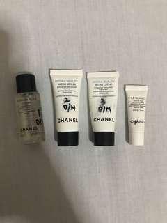Take all 120k!! Chanel Hydra Beauty Trial Kit & Chanel Le Blanc Makeup Base