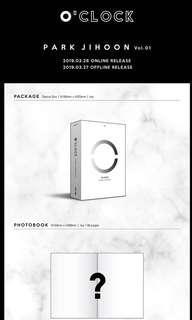 PARK JIHOON - O'CLOCK (1st Mini Album)