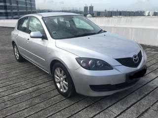 22MAR19-25MAR19 FRI-MON MAZDA 3 HATCHBACK $195 (P PLATE WELCOME)