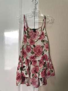Flora top by Forever 21