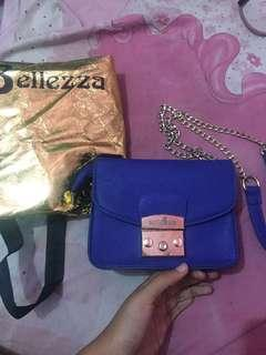 Bellezza sling bag cross body bag chain bag